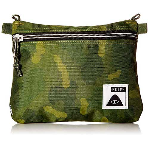 LARGE POUCHES green camo a