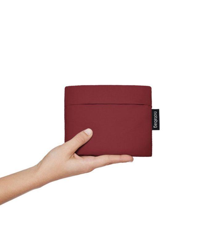 mochila bolso notabag winered 05