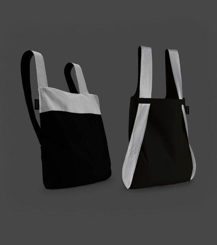 mochila bolso reflective reflectante notabag black