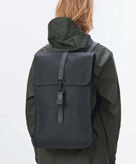 mochila impermeable mochila rains backpack black 5
