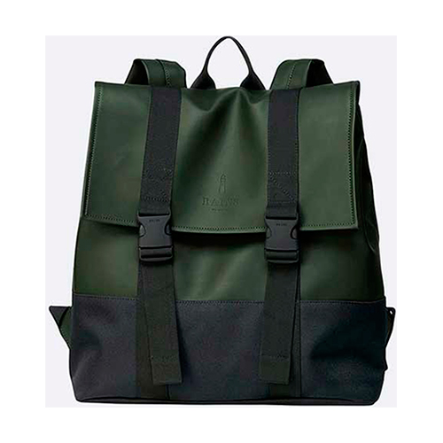 mochila rains Buckle MSN Bag green a 1