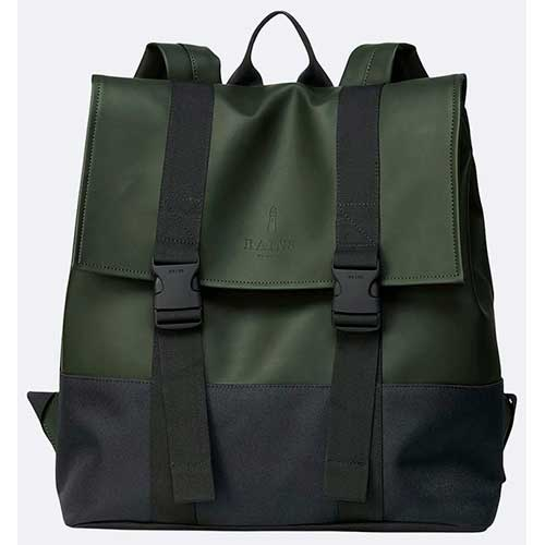 mochila rains Buckle MSN Bag green a