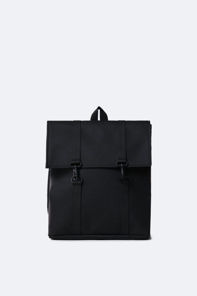 mochila rains impermeable MSN Bag Mini Bags Black