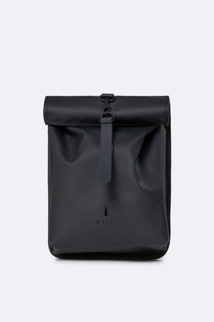 mochila rains impermeable rolltop mini bags black 6