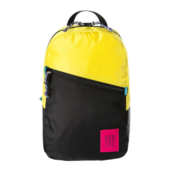 mochila topo designs light pack neon yellow black 1