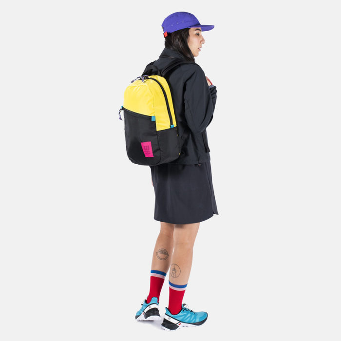 mochila topo designs light pack neon yellow black 2