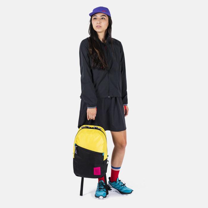 mochila topo designs light pack neon yellow black 3