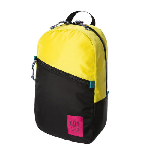 mochila topo designs light pack neon yellow black