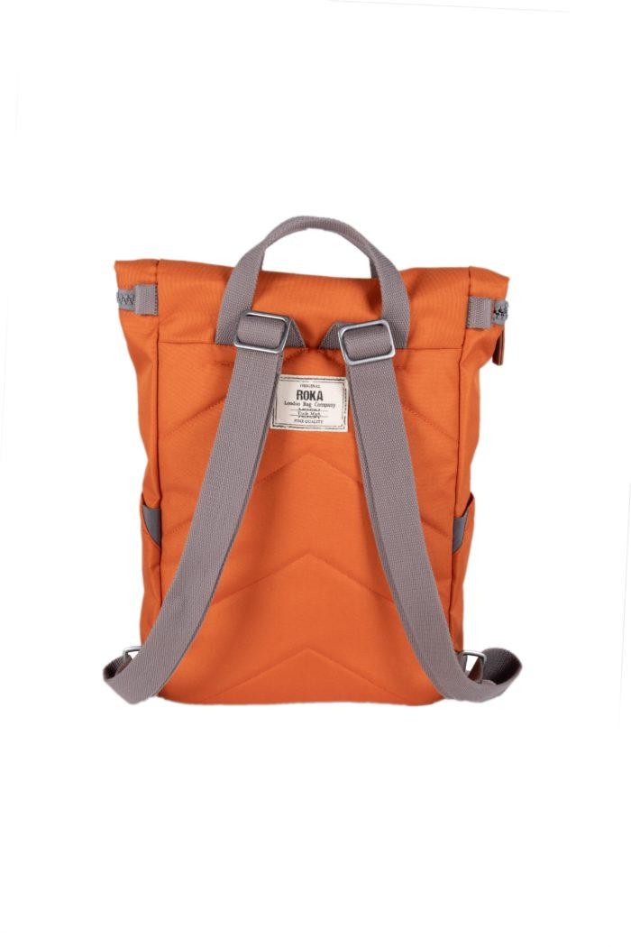 mochila reciclada roka finchley c small atomic orange 3 scaled