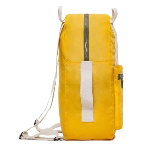 pocket backpack yellow 2