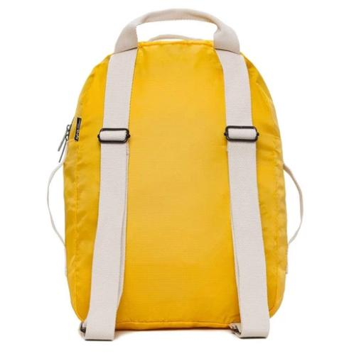 pocket backpack yellow 4
