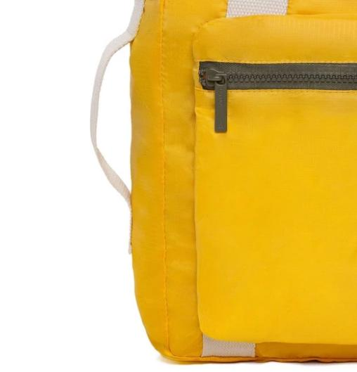 pocket backpack yellow 5