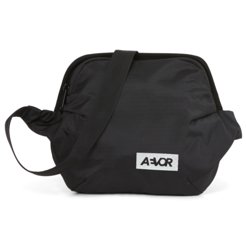 rinonera aevor hip bag plus ripstop black