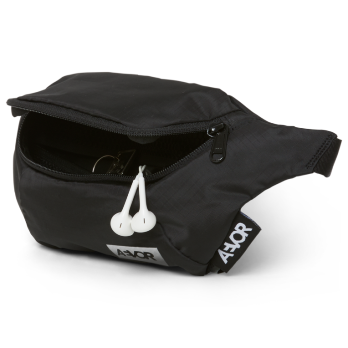 rinonera aevor hip bag ripstop black 4