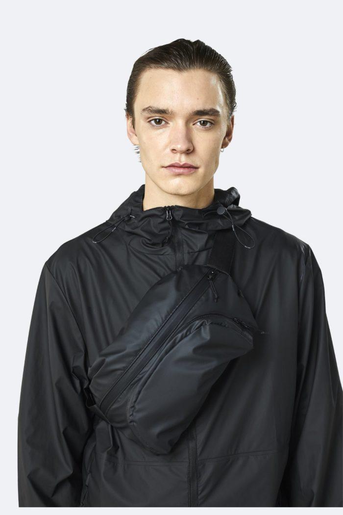 rinonera impermeable rains Ultralight Hip Bag Bags Black 5