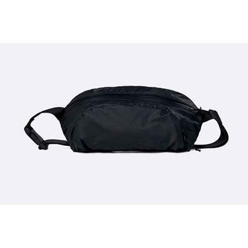 rinonera impermeable rains Ultralight Hip Bag Bags Black a