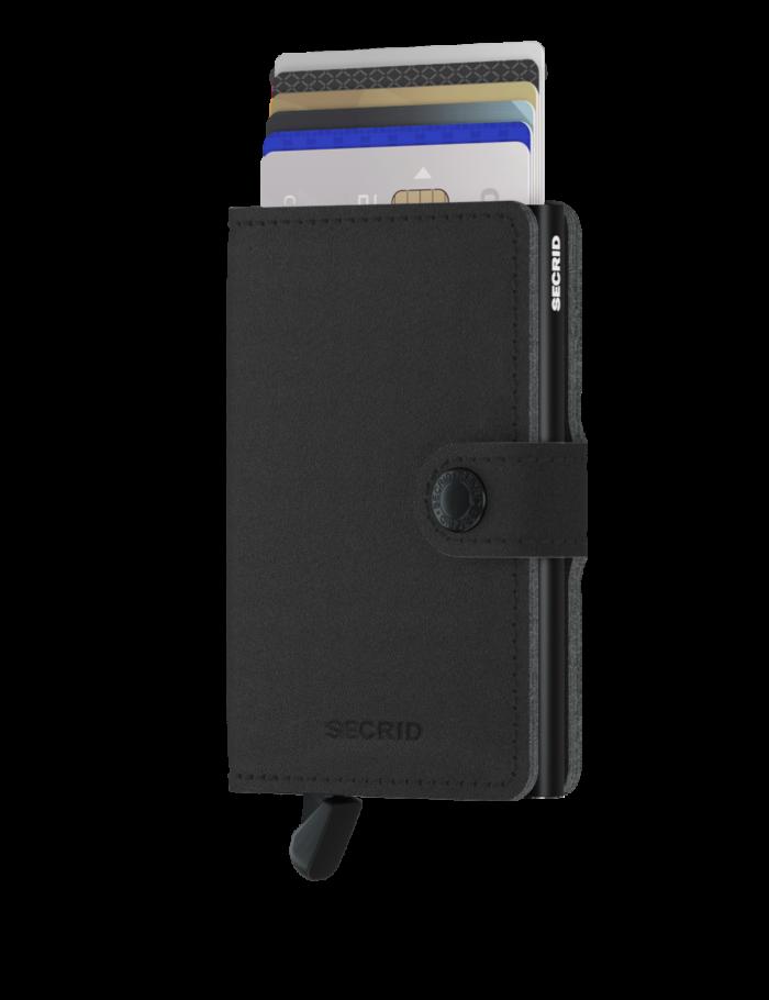 secrid miniwallet yard black front cards 2