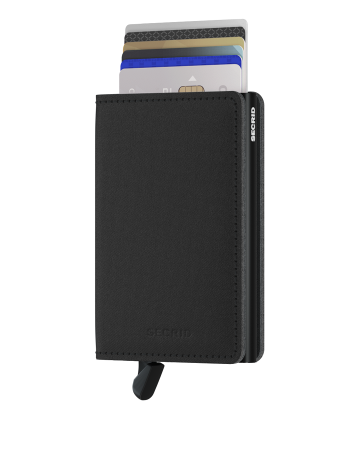 secrid slimwallet yard black front cards