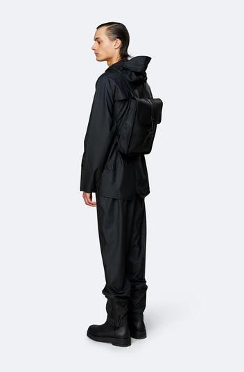 mochila rains Backpack Micro Bags Black 4