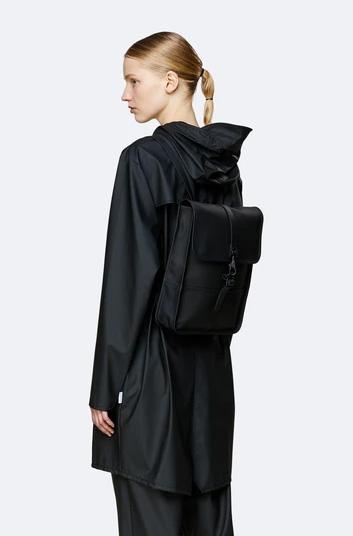 mochila rains Backpack Micro Bags Black 5
