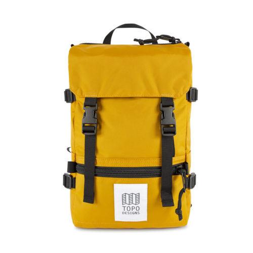mochila topo desings rover pack mini mustard